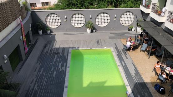 green pool....